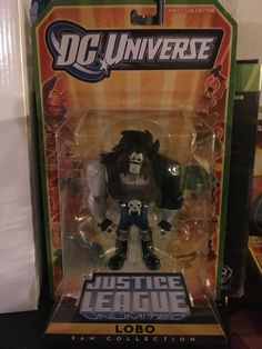 This is my 2010 SDCC exclusive Lobo figure from the Justice League Unlimited collection. It was later available on the mattycollector website as well.