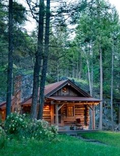 Can 39 t believe this comes from a kit tiny cabin ideas for Cabin kits northern california