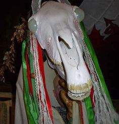 An Awfully Big Blog Adventure: David Thorpe on the Trail of the Mari Lwyd