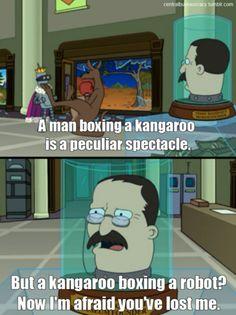 A man boxing a kangaroo is a peculiar spectacle. Avatar Cartoon, Cartoon Memes, Futurama, Portrait Cartoon, Tv Shows Funny, Portraits From Photos, Creative Artwork, Animated Cartoons, Kids Shows
