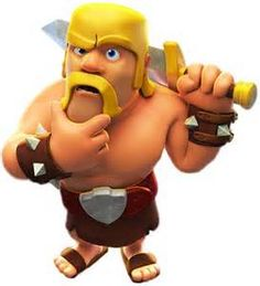 Clash of clans Barbarian