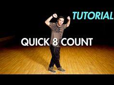 How to do a Quick 8 Count Dance Routine (Hip Hop Dance Moves Tutorial) | Mihran Kirakosian - YouTube Street Dance Moves, Hip Hop Dance Moves, Kids Dance Classes, Dance Lessons, Dance Tips, Dance Workout Videos, Dance Videos, Baile Hip Hop, Jazz