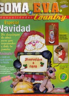 El Rinconcito de las Manualidades de Rosi: Goma eva Navidad