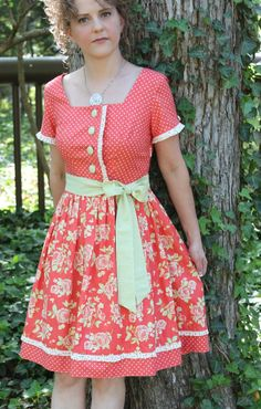 The Betty June Dress sewing pattern from Serendipity Studio. $10.50, via Etsy.
