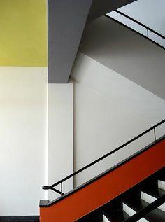 Bauhaus Dessau (School for Art, Design and Architecture). August 2008.