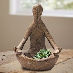 Volcanic Ash Offering Goddess Statue - Handcrafted from Volcanic Rock | VivaTerra