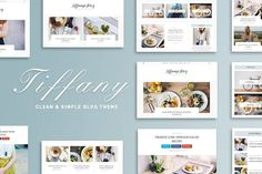 50%OFF Tiffany - Clean & Simple Blog by GiaThemes on  @creativemarket Tiffany – is a minimal and clean WordPress Blog theme. It is suitable for any kind of blog, personal, food, travel, photography, publishing or tutorial blog sites. Using Theme Options you can customize your blog the way you want very easy!