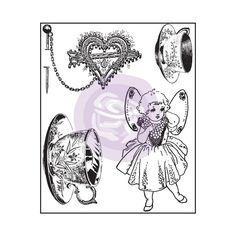 Clear Stamps - Butterfly - Butterfly - Browse by Collection/Designer - CHA Winter 2015 - What's New - Shop Products - Store