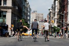 BROOME STREET, Colin Tunstall, Josh Rosen and Morgan Collett are Saturdays Surf NYCforDowntownfrombehind.