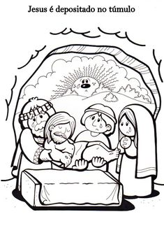 Mt 26, 36-46                 Mt 26, 47-50                 Mt 26, 57-66                 Mt 26, 69-75                  Jo ... Jesus Crafts, Bible Story Crafts, Sunday School Projects, Religion Catolica, Easter Story, Bible Coloring Pages, Catholic Kids, Religious Education, Church Crafts