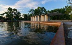 the sustainably-designed Long Dock Park in Beacon, NY
