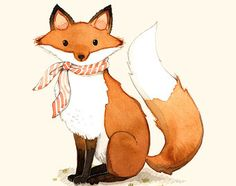 fox wall art nursery - Google Search