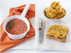 Curry Linsen Aufstrich | food-vegetarisch.de