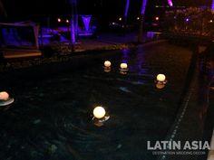 #orbs #ambiancelighting by @weddingcancun latinasia #destinationweddings #cancun and #rivieramaya