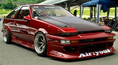 AE86 | LIKE US ON FACEBOOK https://www.facebook.com/theiconicimports #DriftSaturday: The BEst of #Drifting Every Week at blog.rvinyl.com
