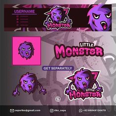 Special Esports Design (@riko_ceps) • Instagram photos and videos Gaming Banner, Little Monsters, Esports, Cyber, Creatures, Symbols, Cartoon, Photo And Video, Logo