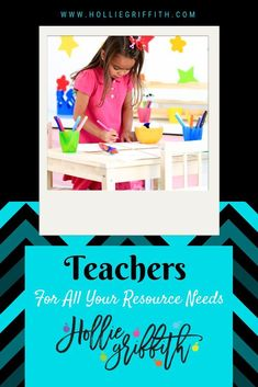 For all your teacher resource needs click here. All my resources fill a need in my classroom as I hope they will yours. Teaching is hard, let's make it easier by finding the best resources for your students. #HollieGriffithTeaching #KidsActivities #CraftsForKids