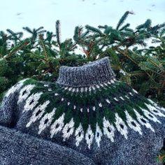 Ønska meg en grønn genser. Sånn gikk det. #alafosslopi #lopapeysa #stryta #islandskstrikk #knithappens #instaknit #strikk #strikking #yarnporn #garndilla