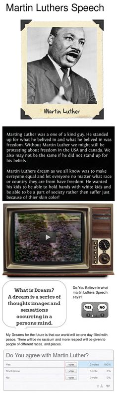 Martin Luther Speech LA 9    Created By Jaxon Stevens