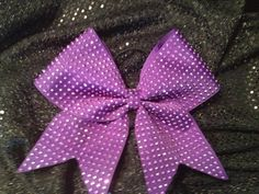 Solid Blinged out Cheer Bow Available in by BowsBellesAndBling, $18.00