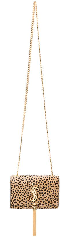 Yves Saint Laurent Small Monogram Chain Bag with Tassel
