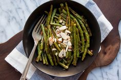 Recipe: Roasted Green Beans with Harissa — Side Dish Recipes from The Kitchn