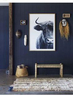 Use Blue for Bedroom Wardrobe Doors