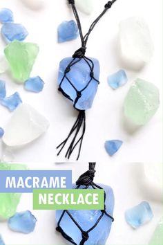 Bracelet Crafts, Jewelry Crafts, Macrame Jewelry Tutorial, Diy Macrame Necklace Tutorial, Macrame Patterns, Macrame Bracelet Patterns, Beaded Bracelets, Sea Glass Crafts, Seashell Crafts