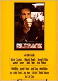 El crack/ Jose Luis Garci. Un antiguo policía que trabaja como detective, recibe el encargo de encontrar a la hija de un empresario de Ponferrada. Descubre que la chica estaba embarazada y que huyó de casa porque su padre pretendía obligarla a abortar.