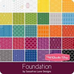 Foundation by Sassafras Lane Designs for Windham Fabrics - March 2018