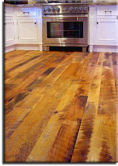barnboard floor