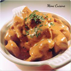 Emincés de poulet sauce mascarpone tomate Recette Cookeo - Mimi Cuisine