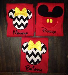 Disney vacation mouse ear shirts-Custom Disney-Family Vacation Shirts- Minnie and Mickey shirts-Disney Family Shirts- Custom Embroidery Disney Vacation Shirts, Disney Shirts, Disney Outfits, Disney Vacations, Disney Trips, Disney Cruise, Walt Disney, Disney 2015, Disney Style