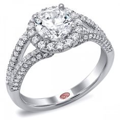 DemarcoJewelry.com  Available in White Gold 18KT and Platinum. 0.54 RDAvailable in White Gold 18KT and Platinum. 0.54 RDCapture her grace and endless beauty with this confident yet elegant design. We have also incorporated a unique pink diamond with every single one of our rings, symbolizing that hidden, unspoken emotion and feeling one carries in their heart about their significant other. This is not just another ring, this is a heirloom piece of jewelry.   Demarco Bridal Engagement Ring.