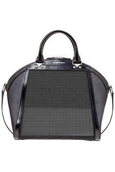 Emporio Armani - Women's Accessories - 2014 Spring-Summer Giorgio Armani, Emporio Armani, Black And White Bags, Add Link, Shoe Boots, Shoe Bag, Unique Purses, New Handbags, Lady Dior