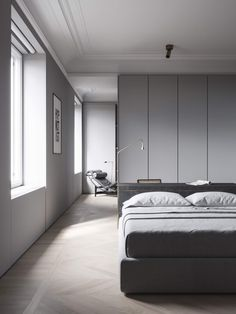 Bedroom | Mist House by Evgeniy Bulatnikov | est living
