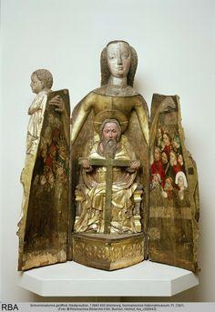 madonna szafkowa - Norymberga - ok. 1390 Grudziądz/Gdańsk - Schreinmadonna Westpreußen
