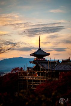 Kiyomizu Temple undergoing some renovations, Kyoto, Japan | by Noor Kimal Ibrahim on 500px 清水寺