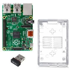Thanks to Twitter Follower @RockfordWhite for this tip!  Connect with HBF on Twitter - Here Raspberry Pi Model B+ Basic Starter Kit from Vilros.  Includes Raspberry Pi Model B+, Enclosure and Wirel...