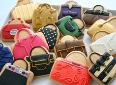 Fashion, Beauty Decorated Cookies