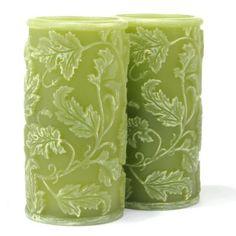 Green Candles #SilkDegreesHOME