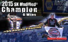 2015 SK Modified® Champion with 6 wins Rowan Pennink!