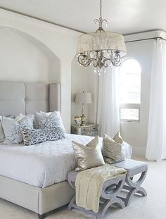 Bright + airy bedroom bliss via @natalyakuynilak. Styled with our exclusive Nina Bed.