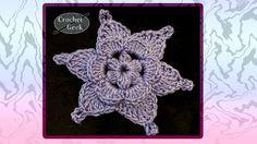 Fleur au crochet - tutoriel