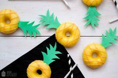 Saras Cupcakery: Fancy Donuts 2.0 {Ananasdonuts}