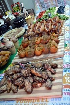 Index of /Adult-Themed-Events/Proudly-South-African-Kuier South African Dishes, South African Recipes, New Recipes, Cooking Recipes, Healthy Recipes, Platter Board, Bbq Party Decorations, Party Food Platters, Come Dine With Me