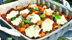 Zapečené gnocchi - Fit s Marcelou Gnocchi, Mozzarella, Mashed Potatoes, Eggs, Breakfast, Ethnic Recipes, Whipped Potatoes, Smash Potatoes, Egg