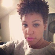 Natural hair; TWA; Curly hair