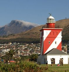 Green Point lighthouse - oldest lighthouse in S A