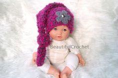 Mützen - Babymütze Zipfelmütze Babyfotographie - ein Designerstück von BeautifulCrochet bei DaWanda  meine website:   http://beautifulcrochet.wordpress.com